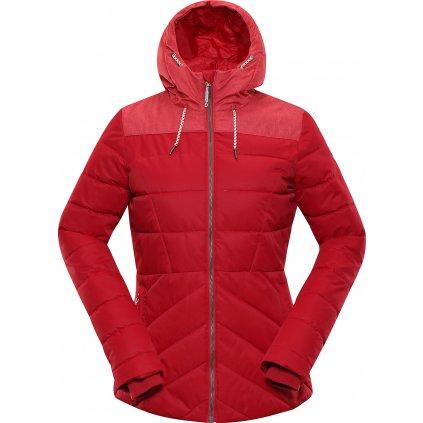 Dámská zimní bunda ALPINE PRO Gabriella 3 červená