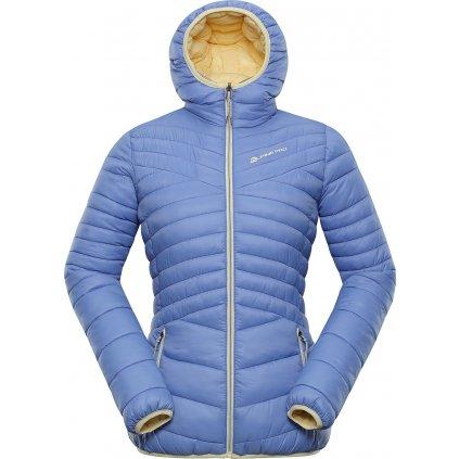 Dámská oboustranná bunda ALPINE PRO Munsra 5 modrá/žlutá
