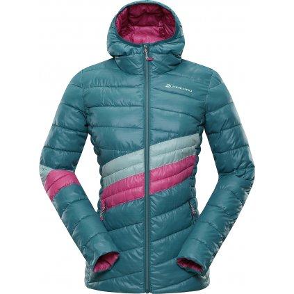 Dámská zimní bunda ALPINE PRO Barroka 4 modrá