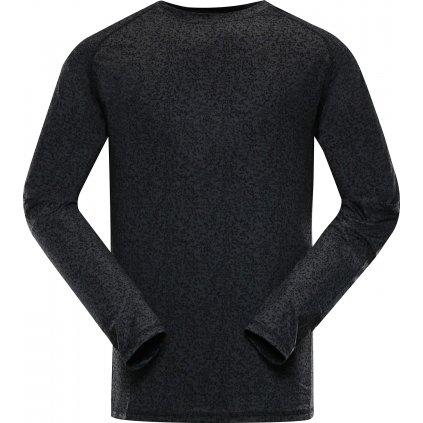 Pánské funkční triko ALPINE PRO Tar černá
