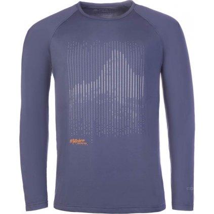 Pánské funkční triko ALPINE PRO Vald 2 modrá