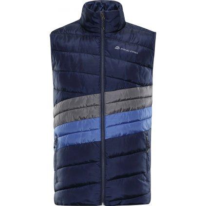 Pánská vesta ALPINE PRO Quann 2 modrá