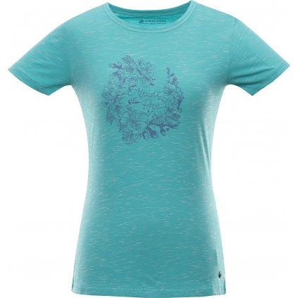 Dámské bavlněné triko ALPINE PRO Rozena 6 modrá