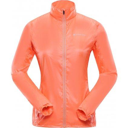 Dámská ultralehká bunda ALPINE PRO Beryla 4 lososová
