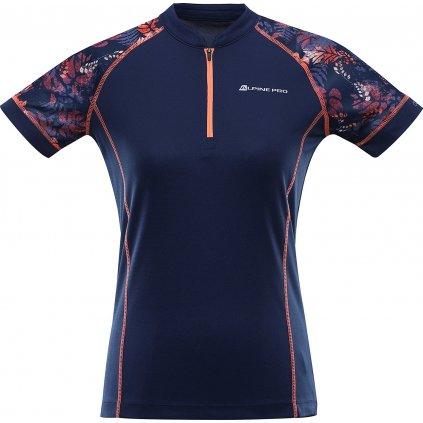 Dámský cyklo dres ALPINE PRO Sorana modrá