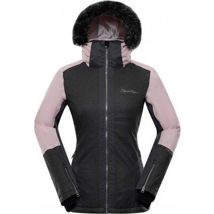 Dámská lyžařská bunda ALPINE PRO Dora 6 černá