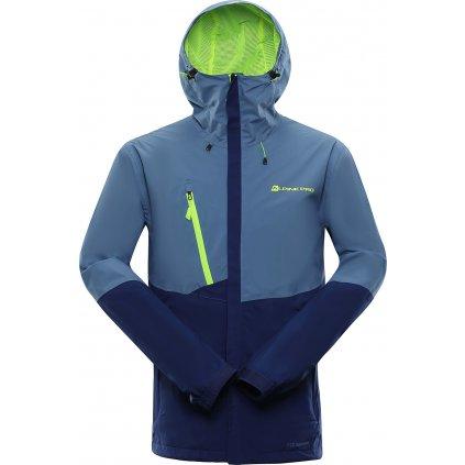 Pánská outdoorová bunda ALPINE PRO Justic 5 modrá