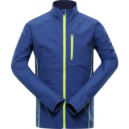 Pánská softshellová bunda ALPINE PRO Technic 2 modrá