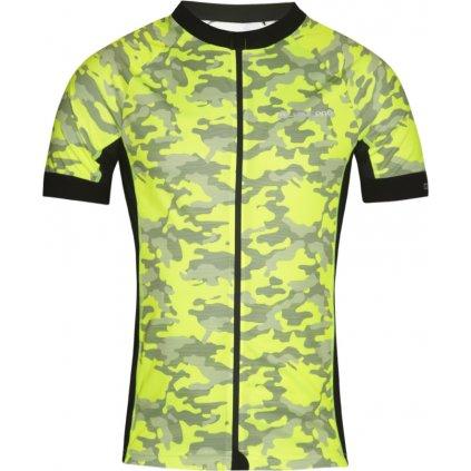 Pánský cyklo dres ALPINE PRO Mark žlutá