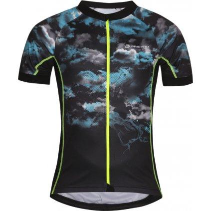 Pánský cyklo dres ALPINE PRO Mark černá
