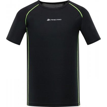 Pánské triko ALPINE PRO Leon černá