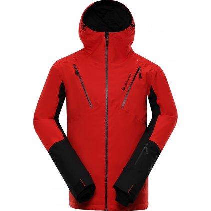 Pánská lyžařská bunda ALPINE PRO Mikaer 3 červená