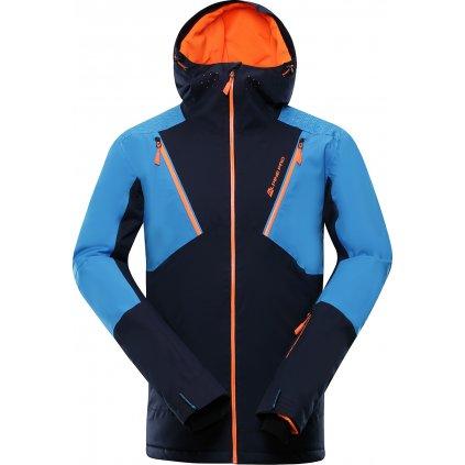 Pánská lyžařská bunda ALPINE PRO Mikaer 3 modrá