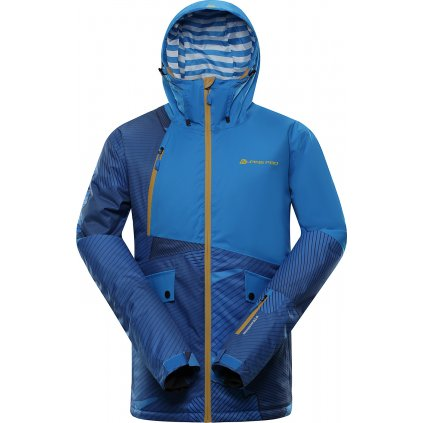 Pánská lyžařská bunda ALPINE PRO Maker modrá