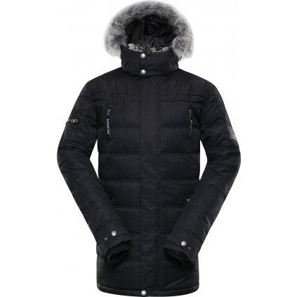 Pánská zimní bunda ALPINE PRO Icyb 5 černá