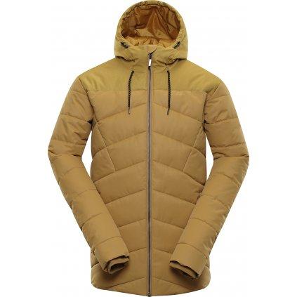 Pánská zimní bunda ALPINE PRO Gabriell 3 žlutá