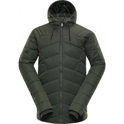 Pánská zimní bunda ALPINE PRO Gabriell 3 khaki