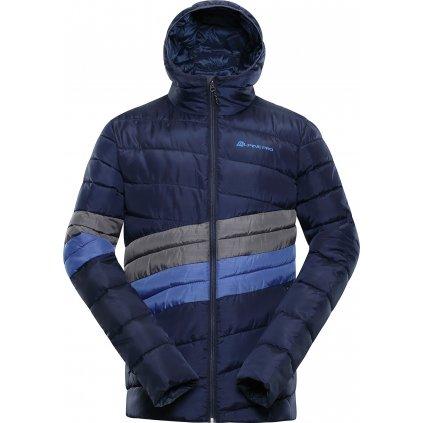 Pánská prošívaná bunda ALPINE PRO Barrok modrá