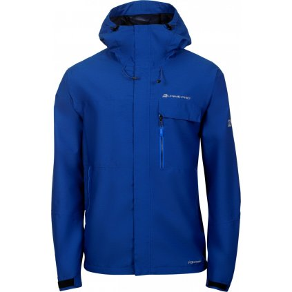 Pánská outdoorová bunda ALPINE PRO Justic 4 modrá