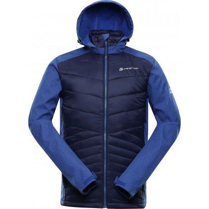Pánská softshellová bunda ALPINE PRO Perk modrá