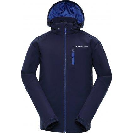 Pánská softshellová bunda ALPINE PRO Nootk 2 INS. modrá