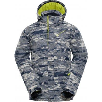 Pánská lyžařská bunda ALPINE PRO Glarnish 4 šedá