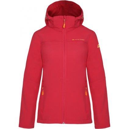 Dámská softshellová bunda ALPINE PRO Nootka 7 růžová