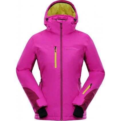 Dámská zimní bunda ALPINE PRO Mikaera 2 růžová