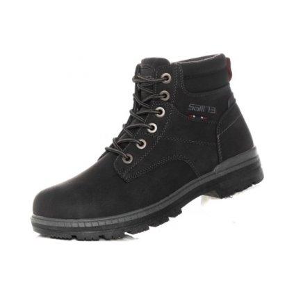 Pánská zimní kotníková obuv SAM 73 černá
