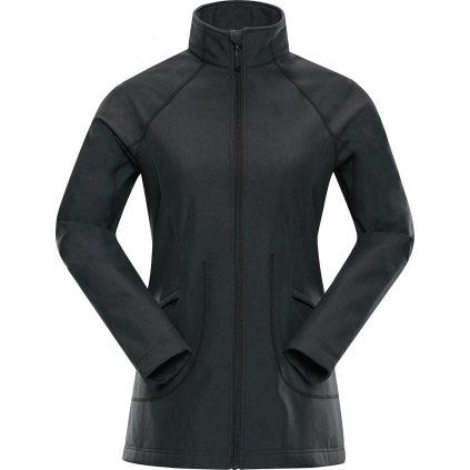 Dámská softshellová bunda ALPINE PRO Webaca černá