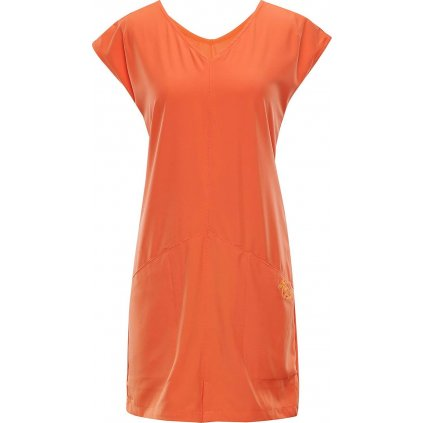 Dámské šaty ALPINE PRO Vakia 2 oranžová
