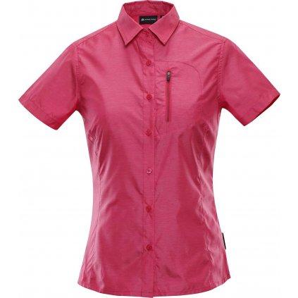Dámská košile ALPINE PRO Lurina 2 růžová