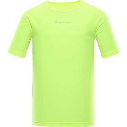 Pánské funkční triko ALPINE PRO Nasmas 3 žlutá