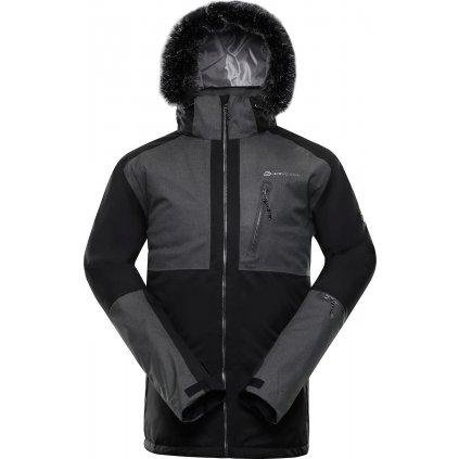 Pánská lyžařská bunda ALPINE PRO Dor 2 černá