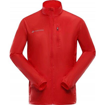 Pánská ultralehká bunda ALPINE PRO Beryl 2 červená