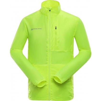 Pánská ultralehká bunda ALPINE PRO Beryl 2 žlutá