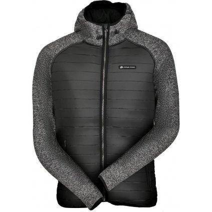 Pánská zimní bunda ALPINE PRO Nisif černá