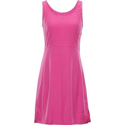 Dámské šaty ALPINE PRO Elanda 3 růžová