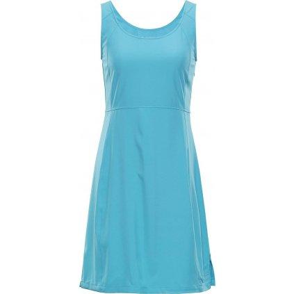 Dámské šaty ALPINE PRO Elanda 3 tyrkysová