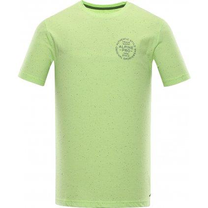 Pánské triko ALPINE PRO Rozen zelená