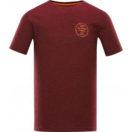 Pánské triko ALPINE PRO Rozen červená