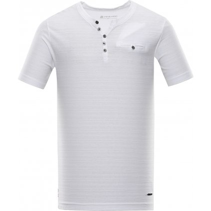 Pánské triko ALPINE PRO Roper 4 bílá