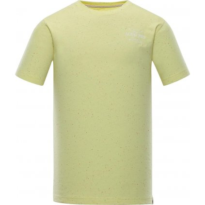 Pánské triko ALPINE PRO Albert žlutá