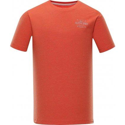 Pánské triko ALPINE PRO Albert červená