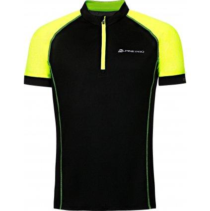 Pánské cyklistické triko ALPINE PRO Soran černá
