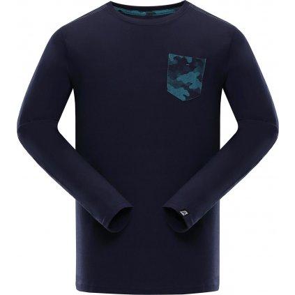 Pánské triko ALPINE PRO Ismat modrá
