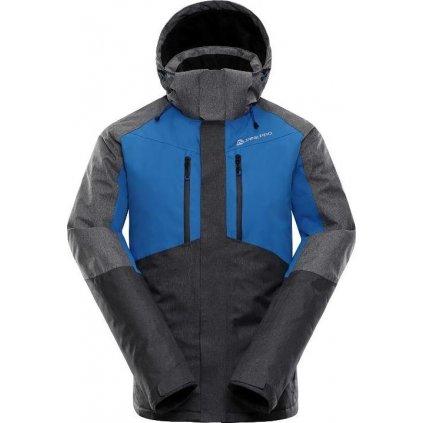 Pánská lyžařská bunda ALPINE PRO Sardar šedá
