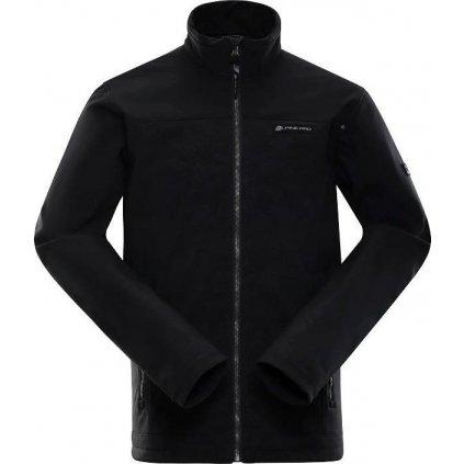 Pánská softshellová bunda ALPINE PRO Kaysen černá