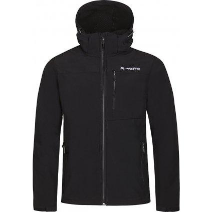 Pánská softshellová bunda ALPINE PRO Nootk 6 černá