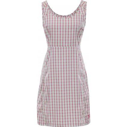Dámské šaty ALPINE PRO Sendra růžová